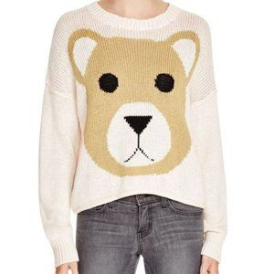 Rare White Label Wildfox Penelope Bear Sweater